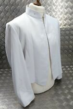 More details for ex- british military issued mess dress white uniform jacket no insignia big size