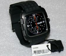 D&G Herren Uhr DW0362 Men Square Chronograph Dolce & Gabbana Armbanduhr Schwarz
