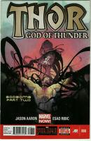 THOR: GOD OF THUNDER #8 1st Appearance Goddesses of Thunder Gorr Cover 2 2013 NM