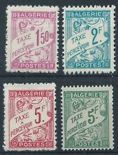 ALGERIA 1945-47 SG D249-252 Postage Due Set High Values Mint MNH