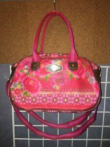 "Pip Studio brightly floral purse bag satchel 8.5""H x 14""W x 5""D"