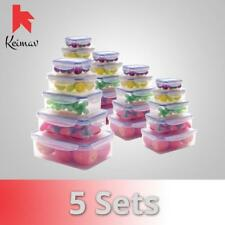 Keimavlock 10-Pc Airtight Food Storage Set of 5