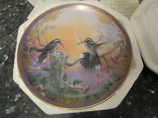 """The Bradford Exchange Collector's Plate """"Perfect Jewels"""" by Larry K. Martin Coa"""