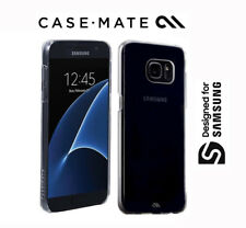CASE MATE Barely There Schutzhülle Case Hard Cover, Samsung S7 Clear Transparent