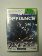 Defiance (Microsoft Xbox 360, 2013) Includes Game and original case. FREE SHIP!