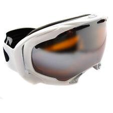 Équipements de neige blanc Oakley pour les sports d'hiver