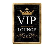 Nostalgic-Art 10209 Achtung VIP Lounge Blechpostkarte 10x14 Cm (5u0)