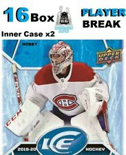 Cayden Primeau RC 2019-20 Upper Deck ICE 16 Box Case Break Montreal Canadiens