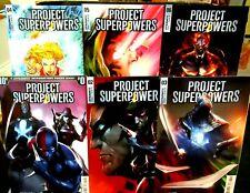 PROJECT SUPERPOWERS #0 #2 thru #6 DYNAMITE COMICS Green Lama Strikes NM 2018