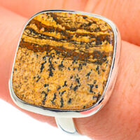 Picture Jasper 925 Sterling Silver Ring Size 8.75 Ana Co Jewelry R61155F