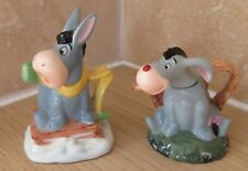 Pair Disney Paul Cardew Mini Eeyore Tea Pot. Limited Editions December 03 & 05