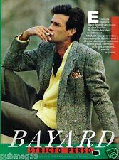Publicité advertising 1986 Pret à porter Vetement Homme Bayard