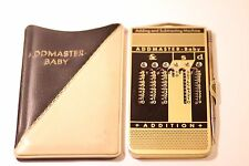 VINTAGE ADD MASTER-BABY ADDING AND SUBTRACTING MACHINE CALCULATOR MADE IN WESTER