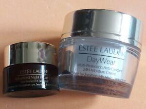 Estee Lauder - Day Wear 24hr Moisturiser. Advanced Night Repair Eye. Travel...
