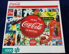 Jigsaw Puzzle Coca Cola Bottles 1000 pc Coke Soda Pop NIB