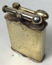 Clark Lighter Lift Top 18K Gold Plated  Pat 1926 (I213)