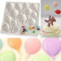 Silicone Balloons Fondant Cake Decorating Sugarcraft Chocolate Mold Baking