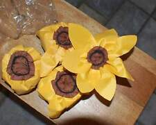 4 SUNFLOWER Chair Leg Pads-Don't Mar Your Floors!