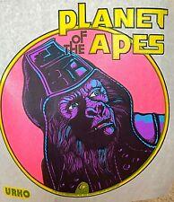 Original Vintage 1967 Planet Of The Apes Cartoon Iron On Transfer Urko
