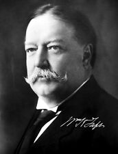 WILLIAM HOWARD TAFT - Repro-Autogramm 20x26cm Großfoto (27. US Präsident)