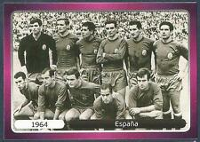 PANINI EURO 2012- #515-CHAMPIONSHIP WINNERS-1964-ESPANA-SPAIN