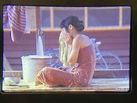 Lot of 6 Thailand 1970-71 Thai Woman Primitive Bathing Outdoor Faucet 35mm Slide