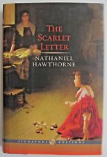 """""""THE SCARLET LETTER"""" by Nathaniel Hawthorne. Hawthorne's masterpiece.  As New"""