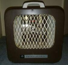 Vintage Superlectric Fan Heater 1950's 60's