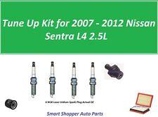 Tune Up for 2007 2008 - 2012 Nissan Sentra L4 Air Filter, Oil Filter, Spark Plug