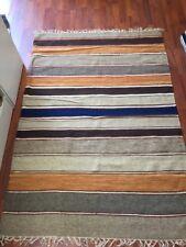 Area Rug Wool Kilim 4'x6' (KL114)