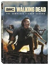 THE WALKING DEAD 8 (2017-2018): Zombie Action Horror TV Season Series NEW R1 DVD