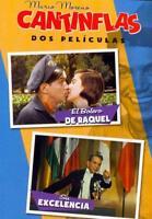CANTINFLAS: EL BOLERO DE RAQUEL/SU EXCELENCIA NEW DVD