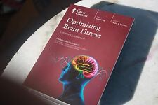 Great Courses DVD factory sealed, Optimizing Brain Fitness + course guidebook