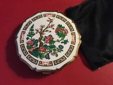 New listing Stratton Compact Floral Design Made In England Pat. 764125 Vintage - 50's / 60's