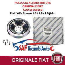 PULEGGIA ALBERO MOTORE ORIGINALE FIAT ALFA ROMEO 147 156 GT 1.9 JTD