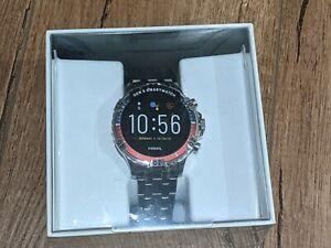 Fossil Gen 5 Smartwatch Garrett HR Stainless Steel FTW4040 Touchscreen Speaker