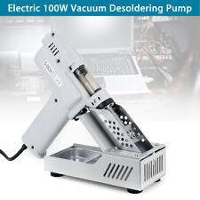 Electric 110V 100W Vacuum Desoldering Pump Sucker Gun Heating Core Romoval Tool