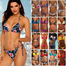 Sexy Women Bandage Bikini Set Push-up Padded Swimsuit Swimwear Bathing Suit AP