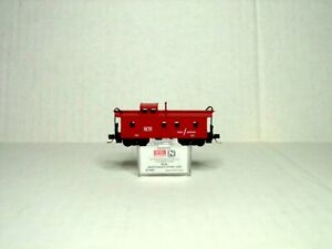 MICRO-TRAINS LINE RED 34' WOOD SHEATHED CUPOLA CABOOSE MAITENANCE OF WAY 51200