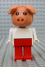 Légo x599c06 Fabuland Personnage Figure Cochon Pig 6 du 3703