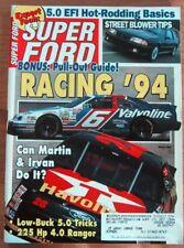SUPER FORD 1994 MAR - PANTERA, RARE '67 SHELBY RACER