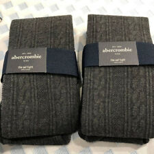NWT ABERCROMBIE KIDS Charcoal Gray The A&F Tight - Size Girls XS/S, S/M