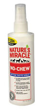 NEW! NATURE'S MIRACLE No Chew Deterrent Bitter Taste Spray 8 oz. P-5764