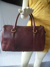 Vintage Must De Cartier Paris Boston Speedy Handbag