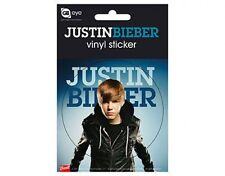 JUSTIN BIEBER jacket 2011 circular VINYL STICKER official merchandise