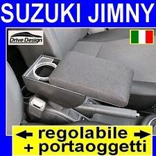 SUZUKI JIMNY - bracciolo con portaoggetti REGOLABILE per - vedi ns. tappeti auto
