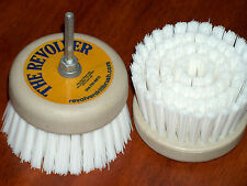 REVOLVER-POWER SCRUB-DRILL BRUSH & REFILL----HOME & BOAT---NEW!