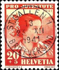 SWITZERLAND - SVIZZERA - 1941 - Pro Juventute. Personaggi illustri. Costumi
