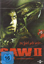 DVD NEW/OVP-Saw II (2) - the game continues-Donnie Choice Mountain & Tobin Bell