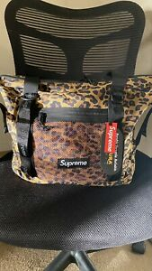 Supreme FW20 Tote Zip Bag Leopard -ON HAND BRAND NEW